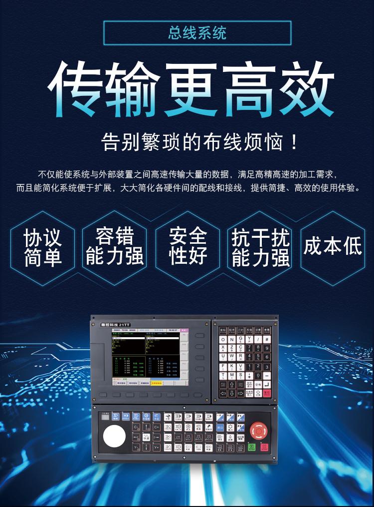 大牌数控系统买不起,来看看双通道总线数控系统
